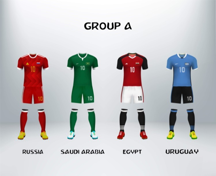 World Cup Group A teams