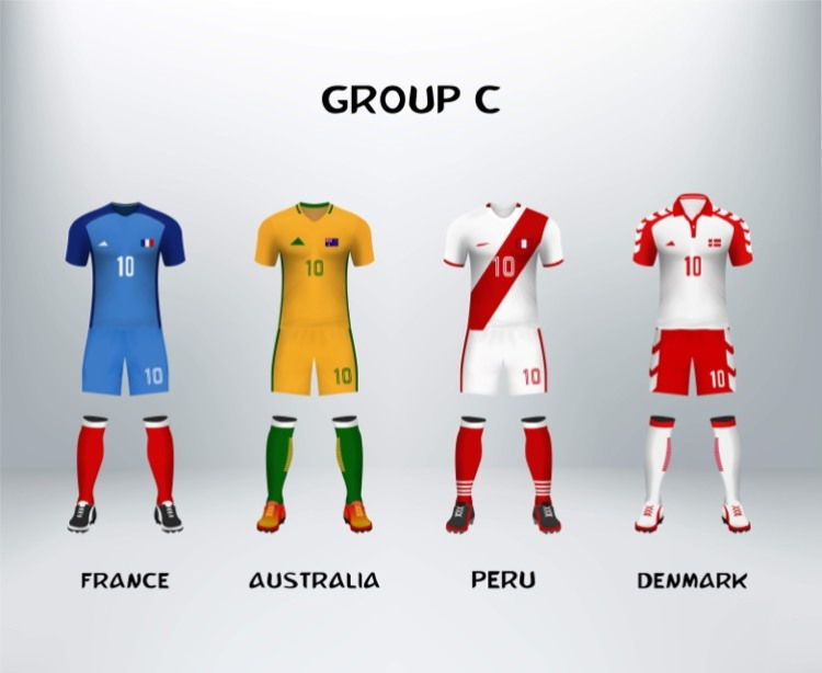 World Cup Group C Teams