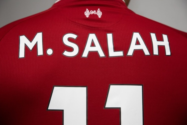 Mohamed Salah Liverpool shirt
