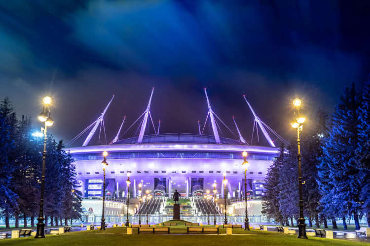 Gazprom stadium, Saint-Petersburg