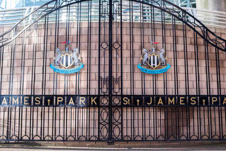Newcastle United gates