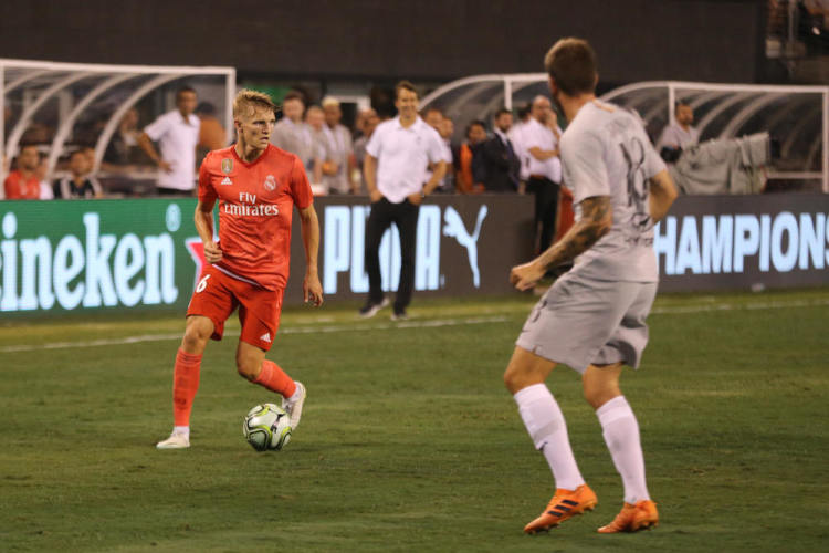 Technical overview of Martin Ødegaard