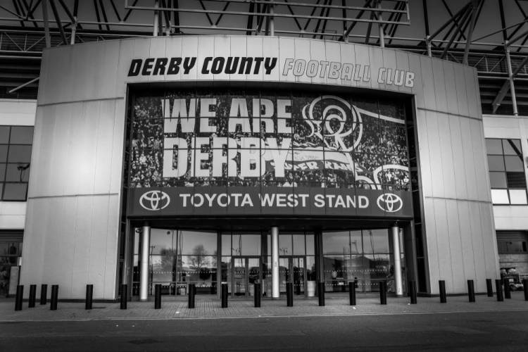 Derby County West Stand