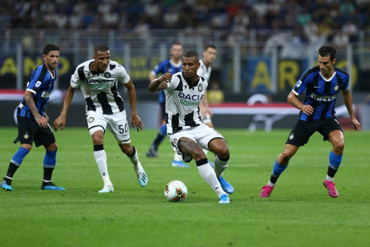 Udinese v Inter Milan in Serie A 2019