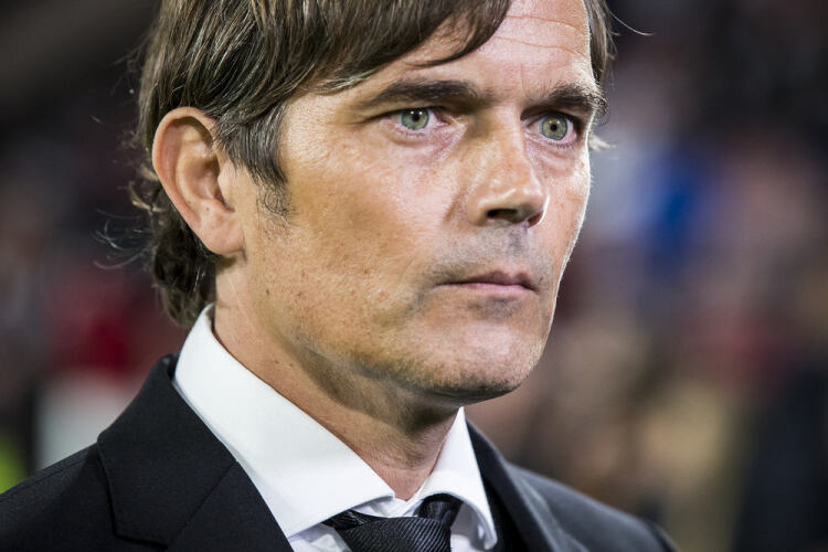 Talking Cocu at Derby County