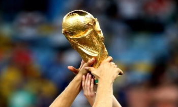 Raising the World Cup