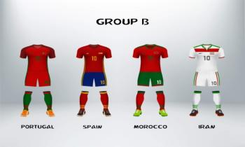 World Cup Group B teams