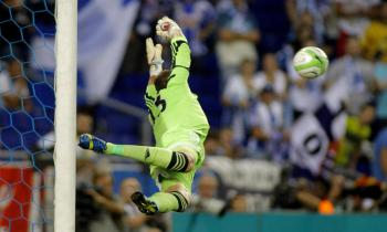 Goalkeeper Adrian