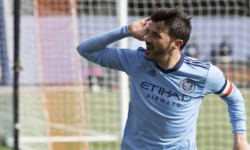 David Villa of NYCFC