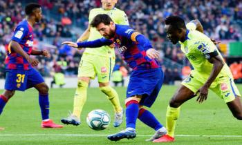 Lionel Messi for FC Barcelona vs Getafe CF