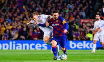 Kroos v Messi in Real Madrid v Barcelona