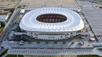 Wanda Metropolitano stadium, home of Atlético Madrid