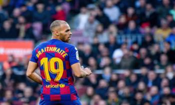 Martin Braithwaite of Barcelona